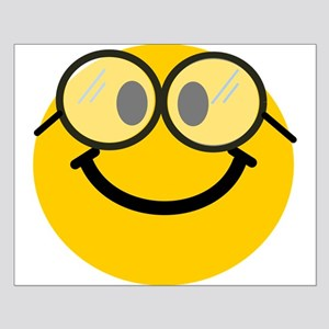 Geek Smiley Small Poster