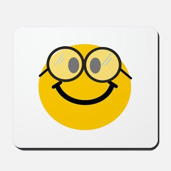 Geek Smiley Mousepad