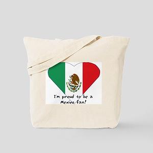 Mexico fan flag Tote Bag