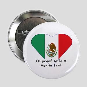Mexico fan flag Button