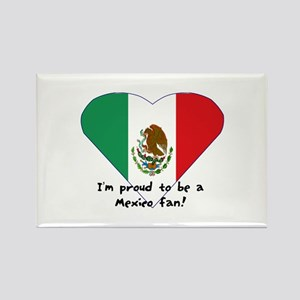 Mexico fan flag Rectangle Magnet