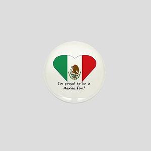 Mexico fan flag Mini Button