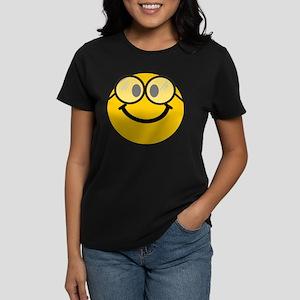 Geek Smiley Women's Dark T-Shirt