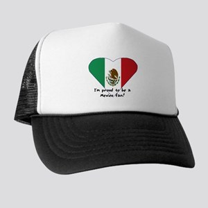 Mexico fan flag Trucker Hat
