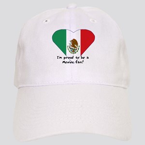 Mexico fan flag Cap