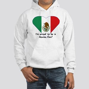 Mexico fan flag Hooded Sweatshirt