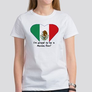 Mexico fan flag Women's T-Shirt