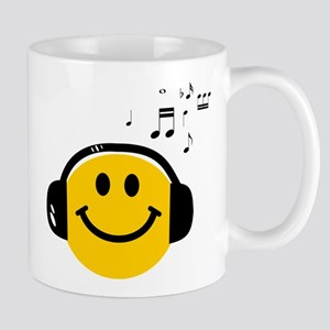 Music Loving Smiley Mug