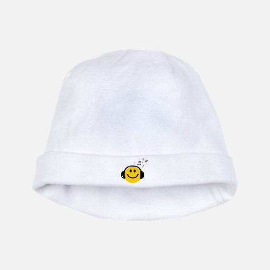 Music Loving Smiley baby hat