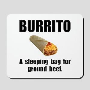Burrito Sleeping Bag Mousepad