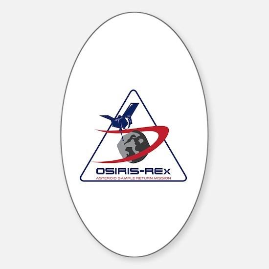 OSIRIS-REx Mission Sticker (Oval)