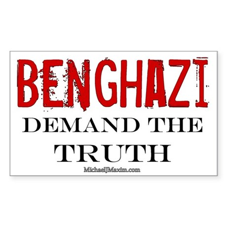 Benghazi Truth Sticker (Rectangle)