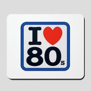 I Heart 80s Mousepad