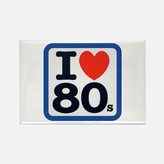I Heart 80s Rectangle Magnet (10 pack)