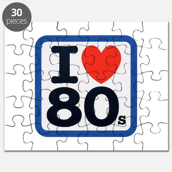 I Heart 80s Puzzle
