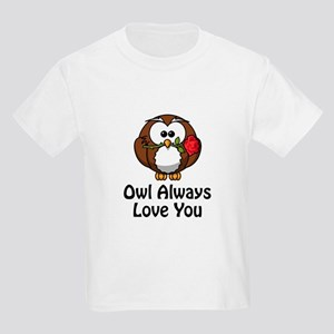 Owl Always Love You Kids Light T-Shirt
