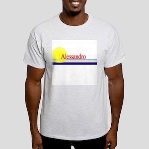 Alessandro Ash Grey T-Shirt