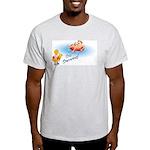 Go Swimming Ash Grey T-Shirt