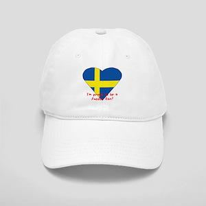 Sweden fan flag Cap