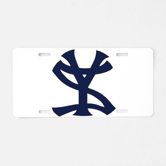 Cute Yankees Aluminum License Plate
