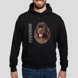 Brown Newfoundland Hoodie (dark)