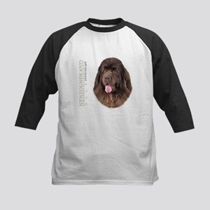 Brown Newfoundland Kids Baseball Jersey