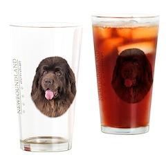 Brown Newfoundland Drinking Glass