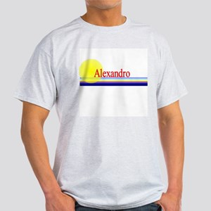 Alexandro Ash Grey T-Shirt