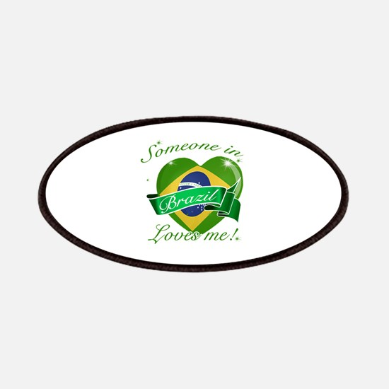 Brazil Flag Design Patches
