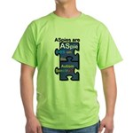AS PIEces Green T-Shirt