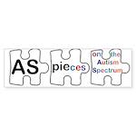 AS PIEces Sticker (Bumper 10 pk)