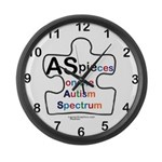 AS PIEces Large Wall Clock