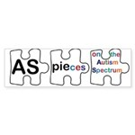 AS PIEces Sticker (Bumper 50 pk)