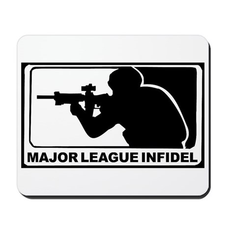 Major League Infidel Mousepad