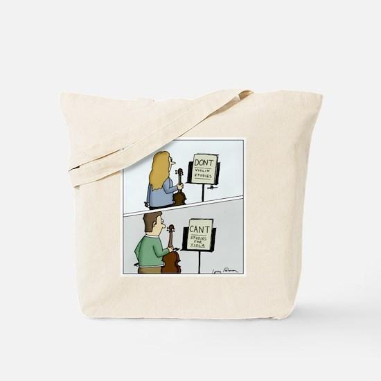 Cute Music violin Tote Bag