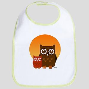 Cute Owls (5) Bib