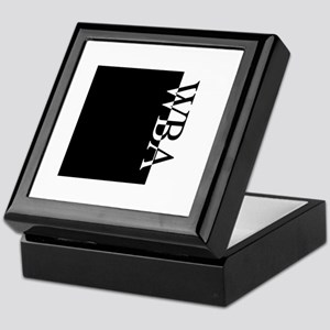 WBA Typography Keepsake Box