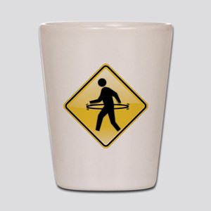 Pedestrian Hula-Hoop Shot Glass