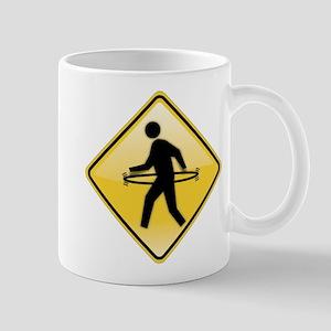 Pedestrian Hula-Hoop Mug