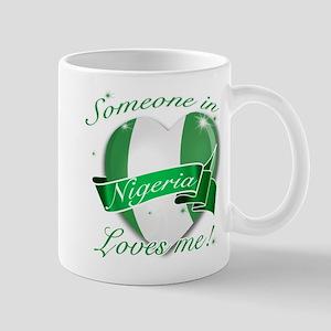 Nigeria Flag Design Mug