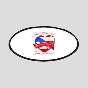 Puerto Rico Flag Design Patches