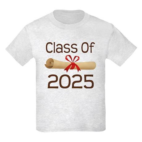 2025 School Class Diploma Kids Light T-Shirt