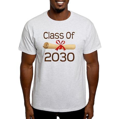 2030 School Class Diploma Light T-Shirt