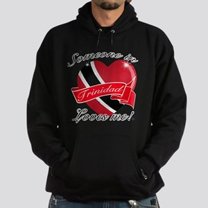 Trinidad Flag Design Hoodie (dark)