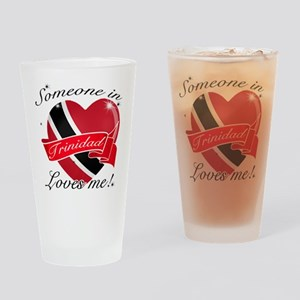 Trinidad Flag Design Drinking Glass