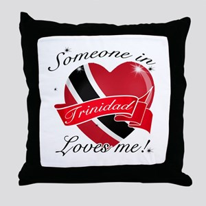 Trinidad Flag Design Throw Pillow