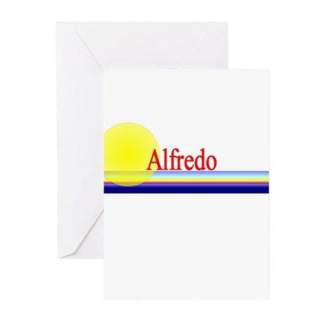 Alfredo Greeting Cards (Pk of 10)