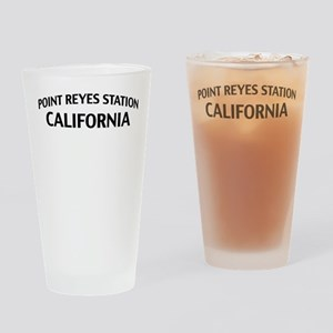 Point Reyes Station California Drinking Glass