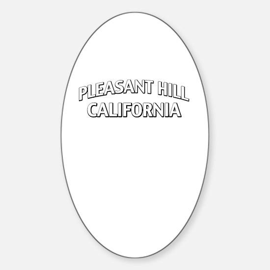 Pleasant Hill California Sticker (Oval)