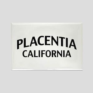 Placentia California Rectangle Magnet